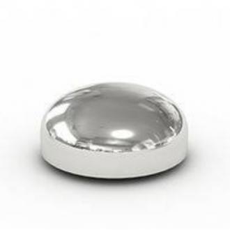 Заглушка эллиптическая приварная оцинкованная 21,3х2 цена