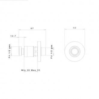 Быстросъемное соединение inGENIUS IG100R-1/2G без фильтра цена