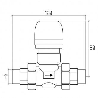 Зонный вентиль Icma 1