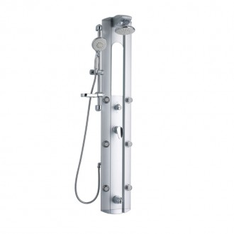 Душевая панель Q-tap 1101 SIL цена