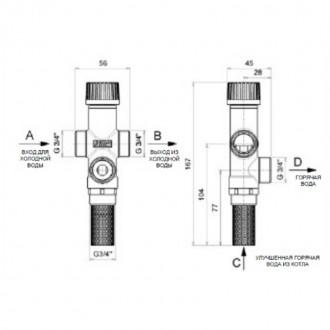 Клапан теплового сброса Icma 3/4 цена