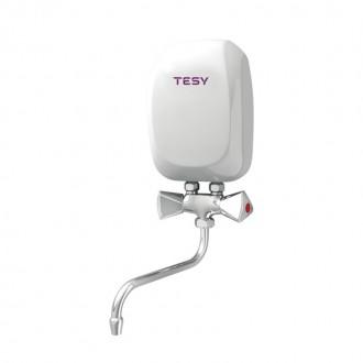 Водонагреватель Tesy проточный 5,0 кВт со смесителем IWH 50 X01 KI цена