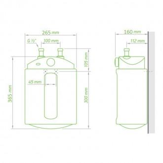 Водонагреватель Tesy Compact Line 6 л, 1,5 кВт GCU 0615 M01 RC цена