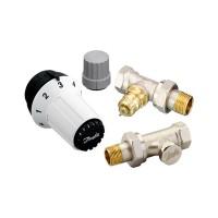 Комплект термостатический Danfoss RAS-C+RA-FN+RLV-S 1/2