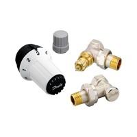 Комплект термостатический Danfoss RAS-C+RA-NF+RLV-S 1/2