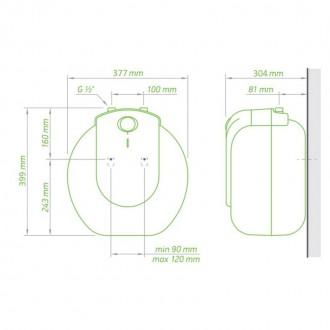 Водонагреватель Tesy Compact Line 15 л, 1,5 кВт GCU 1515 L52 RC цена