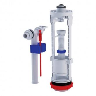 Арматура ANI Plast WC6050M с клапаном боковой подачи 1/2