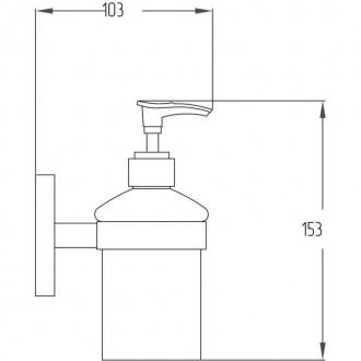 Дозатор для жидкого мыла Potato P2927 цена