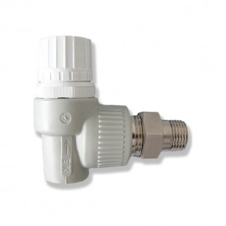 Вентиль радиаторный из PPR Ekoplastik термостатический 20х1/2