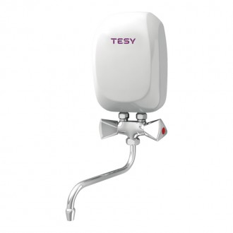 Водонагреватель Tesy проточный 3,5 кВт со смесителем IWH 35 X02 KI цена