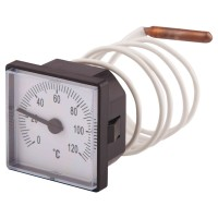 Термометр капилярный SD Plus 48х48 мм