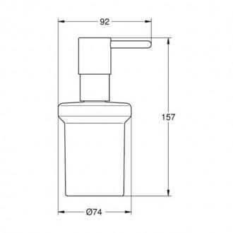 Дозатор для жидкого мыла  Grohe  Essentials 40394001 цена