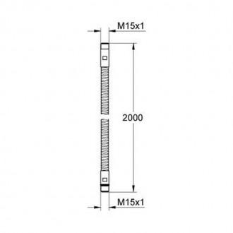 Душевой шланг Grohe 28146000 цена