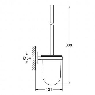 Ершик для унитаза Grohe Essentials 40374001 цена