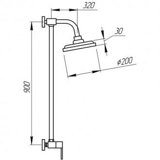 Душевая система Potato P3530B цена