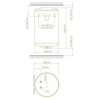 Водонагреватель Tesy Anticalc 120 л, 1,2 кВт GCV 1204424D D06 TS2R цена