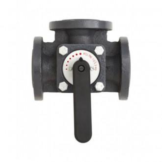 Клапан чугунный трехходовой поворотный Danfoss HFE3 DN80 065Z0434 цена