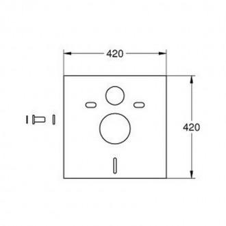 Звукоизоляция Grohe Rapid SL 37131000 цена