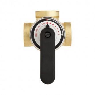 Клапан латунный трехходовой поворотный Danfoss HFE3 PN10 1/2 цена