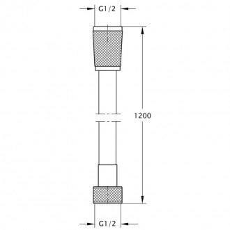 Душевой шланг Bianchi FLS455120AB9VOT цена
