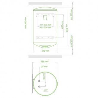 Водонагреватель Tesy Anticalc 80 л, 1,2 кВт GCH 804424D D06 TS2R цена