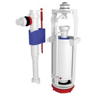 Арматура ANI Plast WC8010C с клапаном боковой подачи 1/2