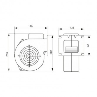 Вентилятор котла KG Elektronik M Plus M Арт. X2 до 40 кВт цена
