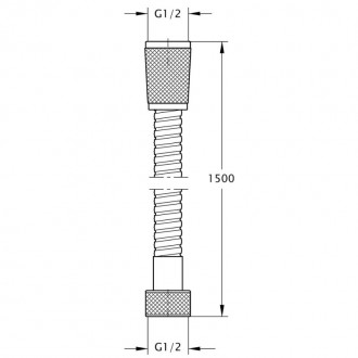 Душевой шланг GF (CRM)-HS-03-150 цена