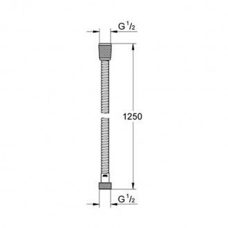 Душевой шланг Grohe Relexaflex 28142000 цена
