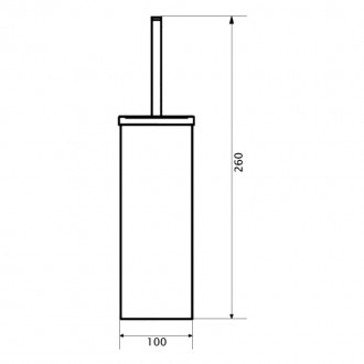 Ершик туалетный GF (CRM)/S-321-1 цена