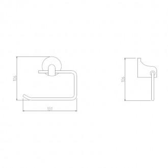 Держатель для туалетной бумаги GF (CRM)S-2803-2 цена