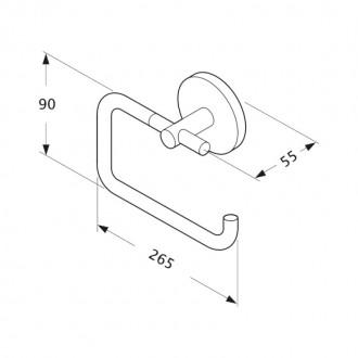 Держатель для туалетной бумаги GF (CRM)S-2903-3 цена