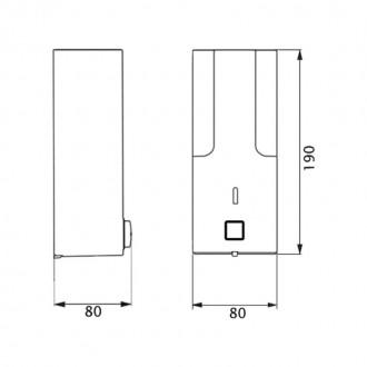 Диспенсер для жидкого мыла GF (CRM)S-403 цена