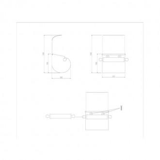 Держатель для туалетной бумаги GF (CRM)S-301 цена