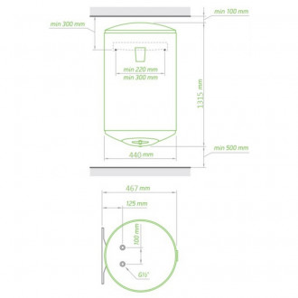Водонагреватель Tesy Bilight 150 л, 2,0 кВт GCV 1504420 B11 TSRC цена