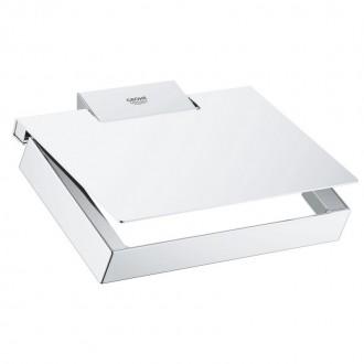 Держатель для туалетной бумаги Grohe Selection Cube 40781000 цена