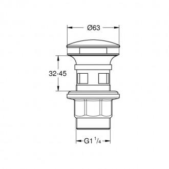 Донный клапан Grohe 40824000 цена