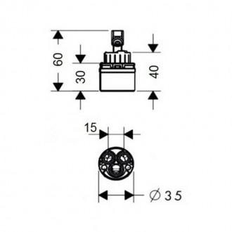 Картридж Q-tap 35 mm ECO цена