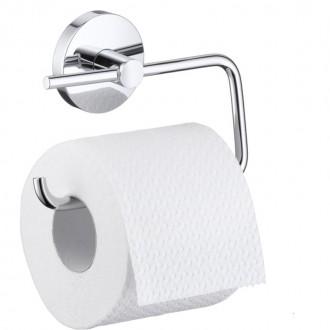 Держатель для туалетной бумаги Hansgrohe Logis 40526000 цена