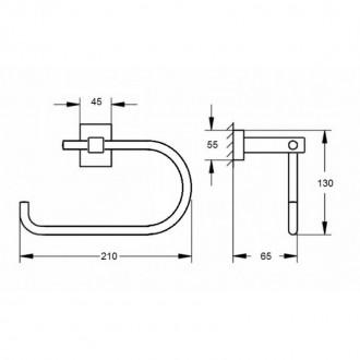 Держатель для туалетной бумаги GF (BLB)S-2603-2 цена