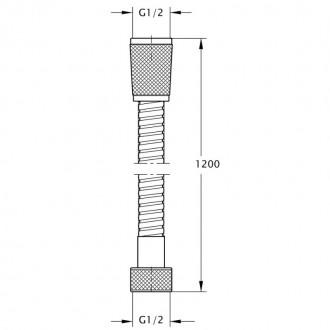 Душевой шланг Q-tap 0052-0 цена