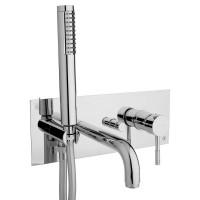 Смеситель для ванной Bianchi Mody VSCMDY2029#CRM с душевым комплектом