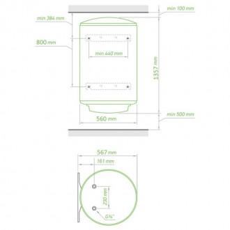 Водонагреватель Tesy MaxEau 200 л, 2 кВт GCV 2005620 D06 SRC цена