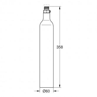 Баллон с углекислым газом Grohe Blue 40422000 цена