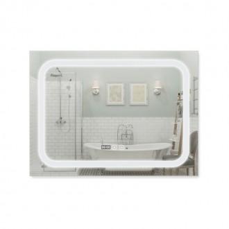 Зеркало с подсветкой и антизапотеванием Q-tap Mideya LED DC-F906 800*600 цена