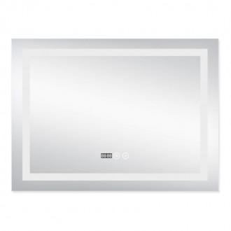 Зеркало с подсветкой и антизапотеванием Q-tap Mideya LED DC-F904 800*600 цена