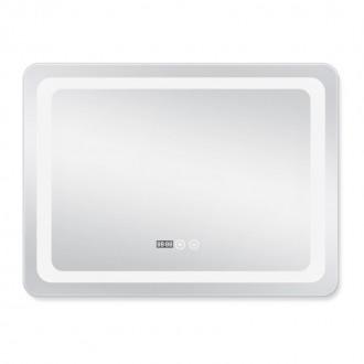 Зеркало с подсветкой и антизапотеванием Q-tap Mideya LED DC-F908 800*600 цена