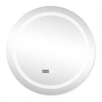 Зеркало с подсветкой и антизапотеванием Q-tap Mideya LED DC-F803 600*600 цена