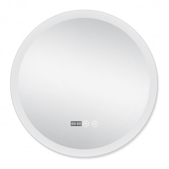Зеркало с подсветкой и антизапотеванием Q-tap Mideya LED DC-F807 600*600 цена