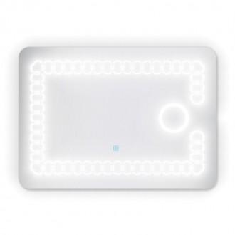 Зеркало с подсветкой прямоугольное Potato P781 500х700 мм цена